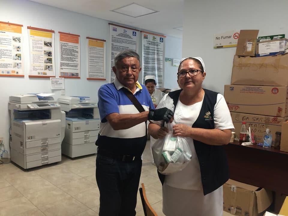 f448b9ff28 ... entrega de medicamentos a personas de escasos recursos y entrega de  medicamentos al Hospital de Especialidades, ademas se llevo a cabo el 2do  dia de la ...