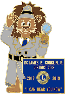 DG James Conklins Emblem for 2018-2019