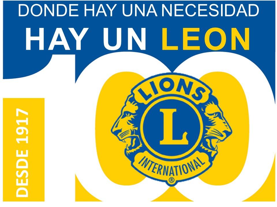 Donde hay un Leon hay una ncesidad