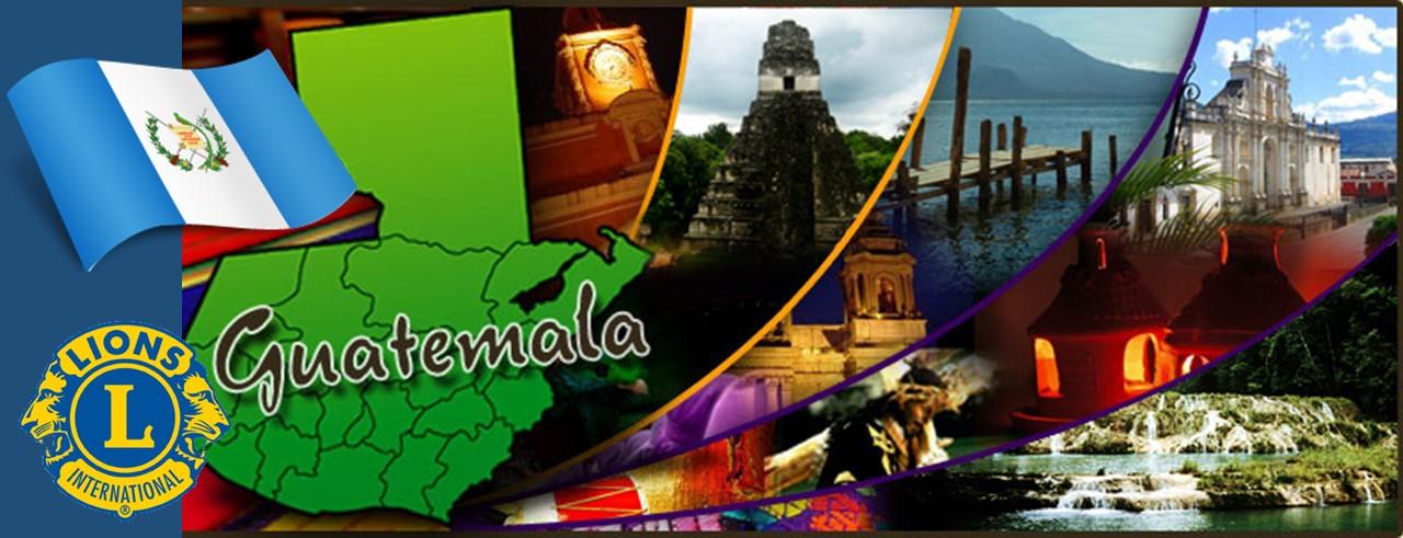 Bienvenidos Clubes de Leones de Guatemala
