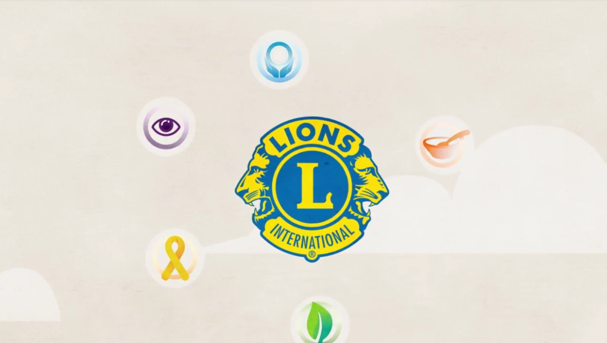 Video of Lions Club Service