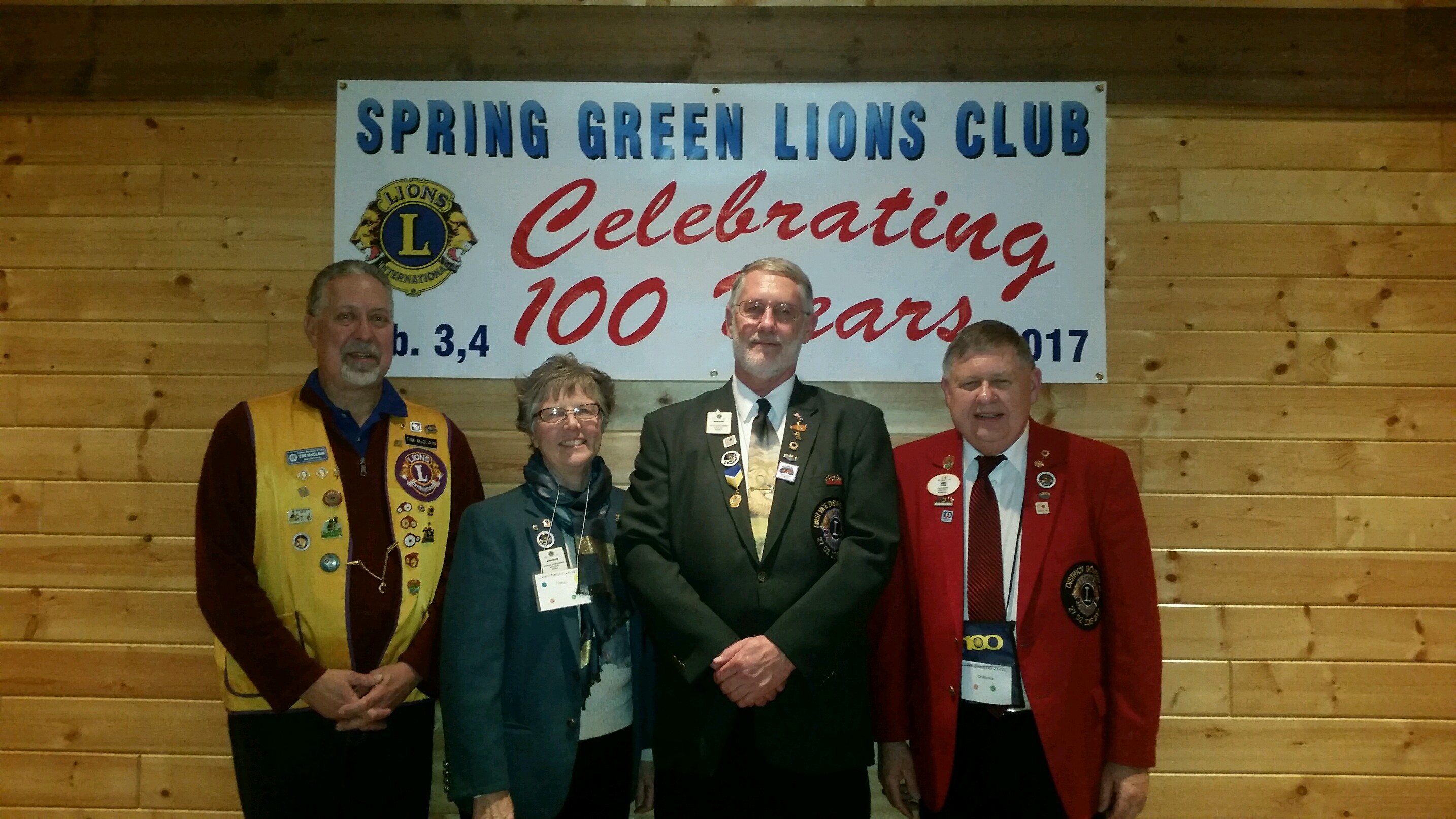 2017 Wisconsin Lions 27D2 District Convention District Governors
