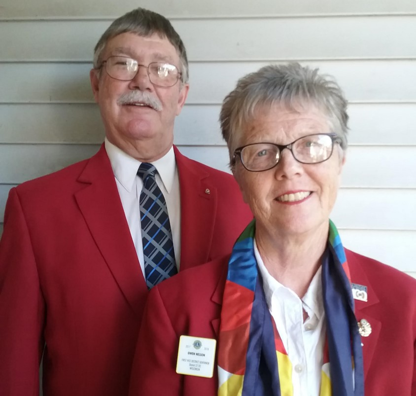 2018-2019 Lions District Governor Gwen Nelson Wisconsin 27D2