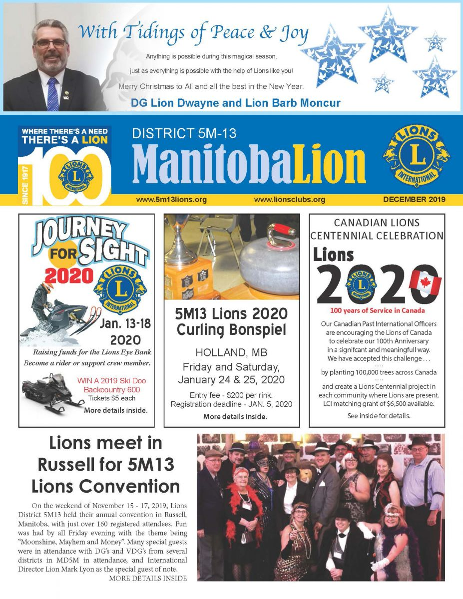 September 2019 5M13 Manitoba Lion