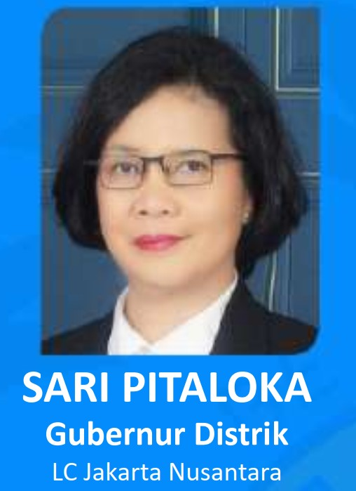 GUBERNUR DISTRIK 307-B1 periode 2019-2020 - SARI PITALOKA