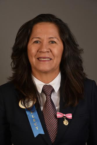 C.L. María Alejandra Quintero Bautista. Gobernadora del Distrito B-9