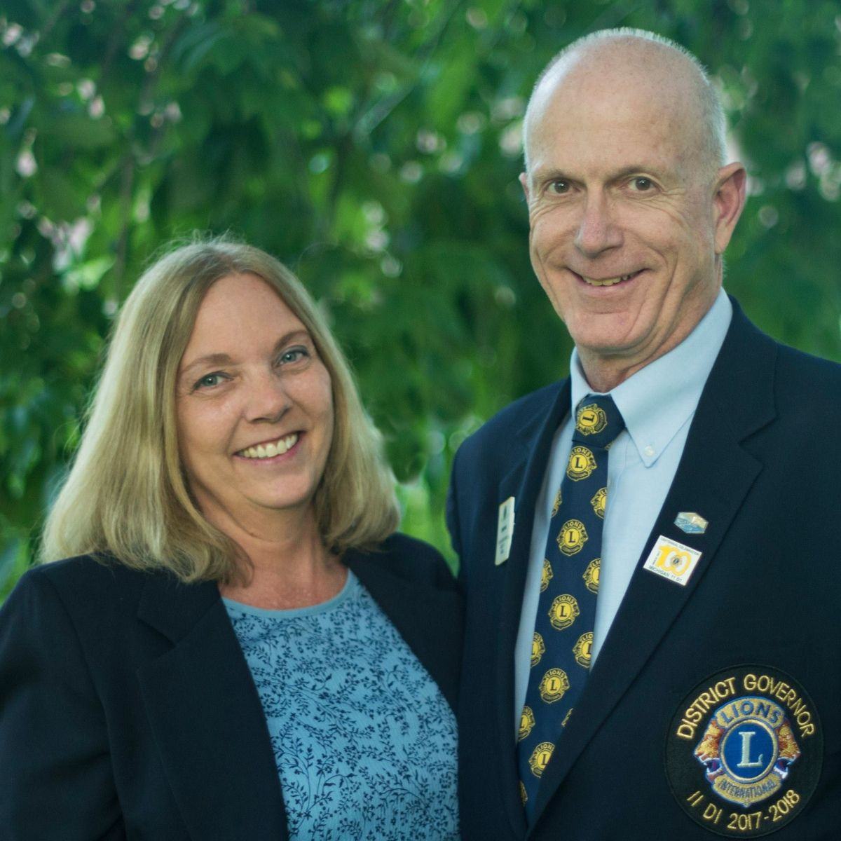 Lion DG Jeff Hunt and wife Lion Laura