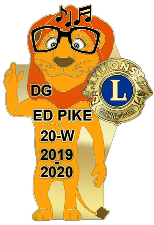 DG's pin